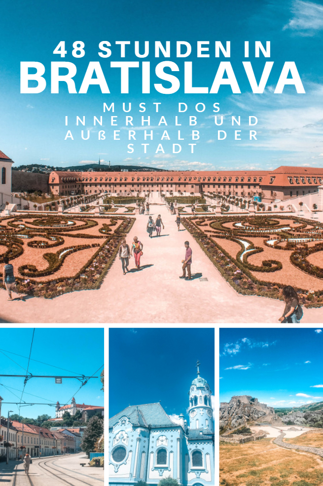 Bratislava - 3 Must Dos für einen Wochenendtrip