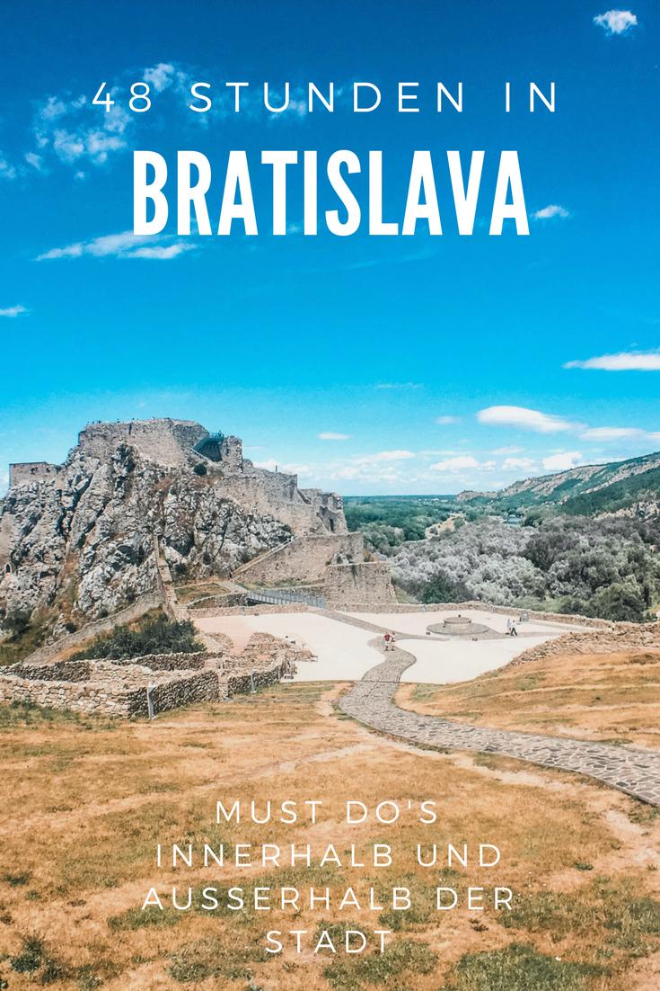 Bratislava - Eine echte Alternative zu Prag und Budapest