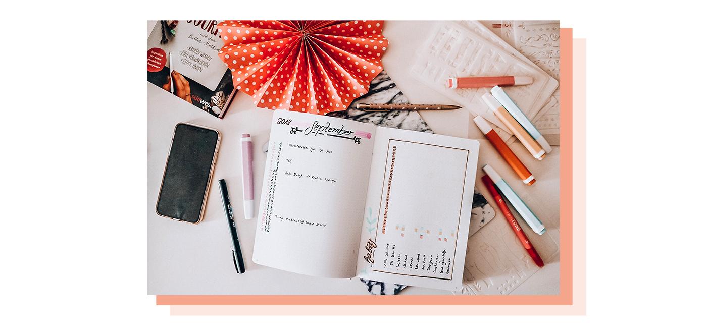 Das eigene Bullet Journal erstellen