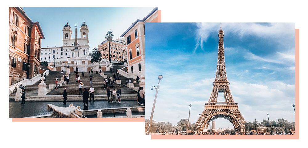 Blindbooking - Reise ins Unbekannte - Rom und Paris
