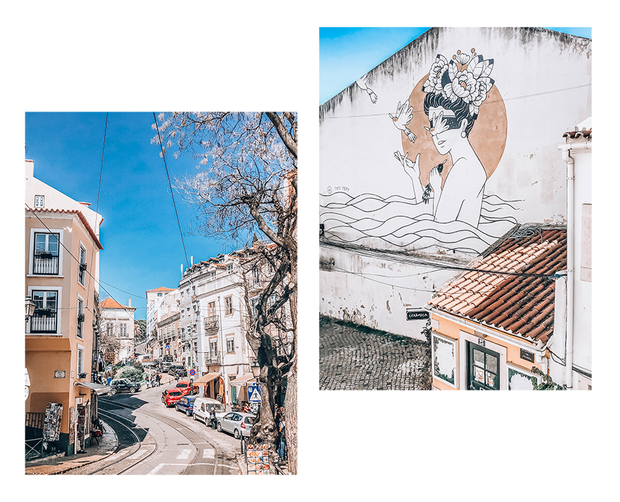 Alfama Viertel in Lissabon