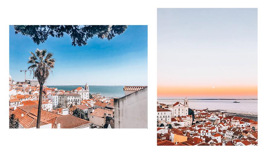 Miradouro de Santa Luzia Lissabon