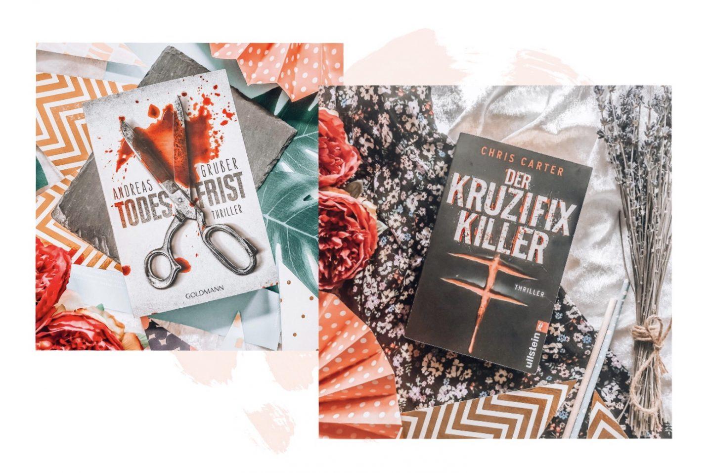 Thriller Empfehlungen: Todesfrist (Andreas Gruber), Der Kruzifix Killer (Chris Carter)